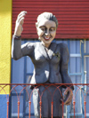 Argentina - Buenos Aires - Evita in La Boca - images of South America by M.Bergsma