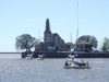 Argentina - Buenos Aires - Leaving Puerto Madero for Colonia, Uruguay - lighthouse - images of South America by M.Bergsma