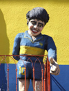 Argentina - Buenos Aires - Maradona in La Boca - images of South America by M.Bergsma