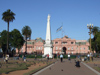 Argentina - Buenos Aires - Plaza de Mayo and the Casa Rosada - images of South America by M.Bergsma