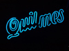 Argentina - Buenos Aires: Quilmes beer / cerveza - neon (photo by Adrien Caudron)