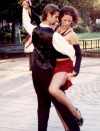 Argentina - Buenos Aires: street tango - dance (photo by C.Abalo)