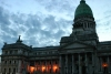 Argentina - Buenos Aires: the Congress - dusk / Palacio del Congreso (photo by N.Cabana)