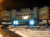 Armenia - Yerevan: �Moscow� cinema on Abovian street - nocturnal - photo by S.Hovakimyan
