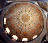 Armenia - Echmiatsin: Cathedral of St. Echmiatsin - the dome - Unesco world heritage site (photo by M.Torres)
