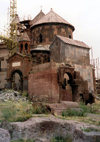 Armenia - Haritch: church of Holy Astvatsatsin - Mother of God - photo by M.Torres
