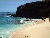 Ascension island: beach ( photo by Cpt Peter)