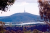 Australia - Canberra / Camberra (ACT): Telstra tower - Lake Burley Griffith - photo by Miguel Torres
