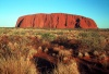 Australia - Ayers Rock / Uluru (NT): general view II  - photo by  Picture Tasmania/Steve Lovegrove