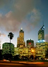 Australia - Perth / PER (WA): at dusk - photo by Luca Dal Bo