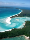 Australia - Whitsunday Island (Queensland): from the air - photo by Luca Dal Bo