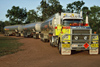 Australia - Northern Territory: Road Train - Mack - Shell - photo by  Picture Tasmania/Steve Lovegrove