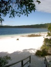 Australia - Fraser Island (Queensland): Lake Birrabeen - photo by Luca Dal Bo