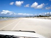 Australia - Cape Flattery (Queensland): driving on the beach - photo by Luca Dal Bo