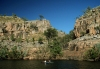 Nitmiluk (Katherine Gorge) National Park (NT): canoists enjoy paddling - photo by R.Eime