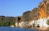 Australia - Geikie Gorge NP (WA): cliffs - view during a boat cruise - photo by Luca dal Bo