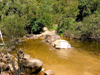 Australia - Cape York (Queensland): 4WD crossing Pascoe river - photo by Luca Dal Bo
