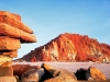 Australia - Cape Leveque (WA): red rocks - photo by Luca dal Bo