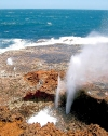 Australia - Point Quobba (WA): coastal blowholes - photo by Luca dal Bo