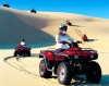 Australia - Stockton (NSW): quad bikes down the dunes - four-wheelers - ATVs - quad cycles - photo by Rod Eime