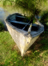 Albany (WA):Abandoned Rowboat on Pond - photo by B.Cain