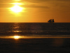581 Western Australia - Broome - Cable Beach: sailing at sunset - photo by M.Samper)
