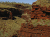 587 Western Australia - Karijini National Park: red gorge - Hamersley Ranges - Pilbara region - photo by M.Samper)