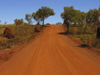 589 Western Australia - Karijini National Park: dirt road - photo by M.Samper)