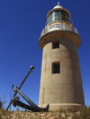 591 Western Australia - Ningaloo Marine Park - Lighthouse Bay: anchor and Lighthouse - photo by M.Samper)