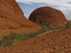 24 Australia - Northern Territory - The Olgas / Kata Tjuta - domed hill - rock formation - photo by M.Samper)