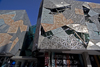 Melbourne, Victoria, Australia: Australian Centre for the Moving Image - ACMI - entrance - Federation Square - photo by Y.Xu