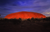Ayers Rock / Uluru - Northern Territory, Australia: dusk - photo by Y.Xu