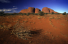 The Olgas / Kata Tjuta, NT, Australia: sacred for the Pitjantjajara people - photo by Y.Xu