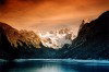 Dachstein (Ober�sterreich): dusk on the lake (photo by Juraj Kaman)