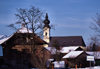 Austria - Arnsdorf (Salzburg): entering silent night / Stille Nacht town - photo by F.Rigaud