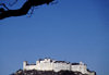 Austria - Salzburg: Hohensalzburg fortress and the Austrian sky - built by Archbishop Gebhard - photo by F.Rigaud