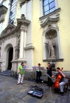 Graz (Steiermark): street musicians (photo by F.Rigaud)