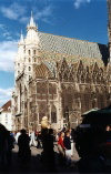 Austria / Österreich -  Vienna / Wien: St Sthephen's Cathedral / Stephansdom (photo by J.Rabindra)