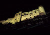 Austria - Salzburg: Hohensalzburg fortress - Festungsberg hill - nocturnal - UNESCO World Heritage Site - photo by F.Rigaud