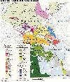 Caucasus: ethnic map
