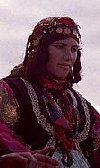 Kurdish lady from south Azerbaijan