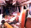 metro car after 1995 incident - Baku - Azerbaijan