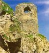 Nagorno Karabakh - Shusha: watch tower at the Gara-boyuk khanim castle (photo (c) H.Huseinzade)