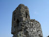 Chirag Gala / Ciraq Qala - Davachi rayon, Azerbaijan: the castle - ruins of a tower - photo by F.MacLachlan