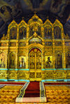 Azerbaijan - Baku: Russian Orthodox Church of Archangel Michael - iconostasis - Pskov style - photo by Miguel Torres