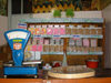 Sheki / Shaki - Azerbaijan: interior of a halva shop - sweets - photo by N.Mahmudova