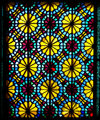 Sheki / Shaki - Azerbaijan: Sheki Khans' palace - Azeri stained glass work - shebeke - Khansarai - photo by N.Mahmudova