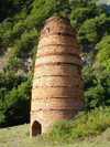 Azerbaijan - Ilisu, Qax rayon - 'beehive' old brickworks - photo by F.MacLachlan