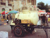 Azerbaijan - Baku: Kvas tank - market outside the station (photo by Miguel Torres)