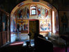 Azerbaijan - Qax - Georgian Church - interior - photo by F.MacLachlan
